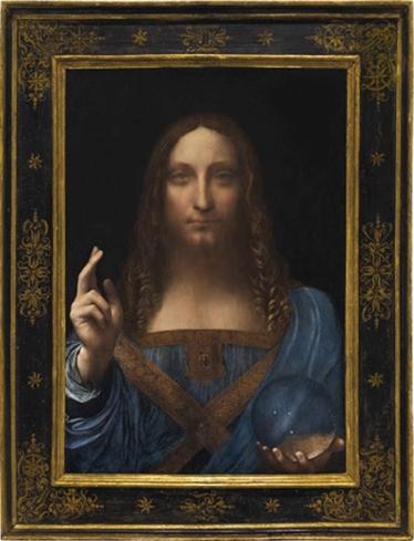 """Salvator Mundi"", painted by Leonardo da Vinci"