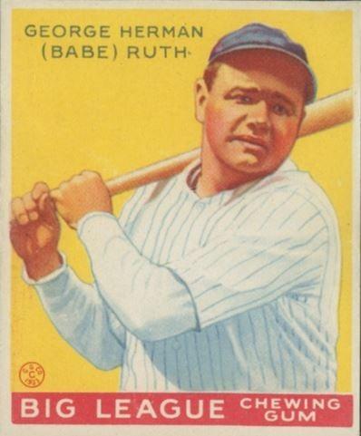1933 babe ruth