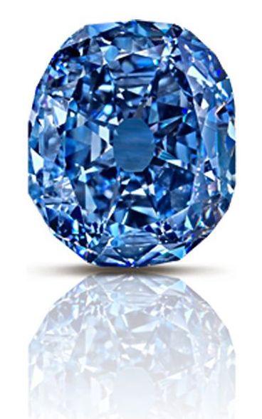 blue colored diamonds