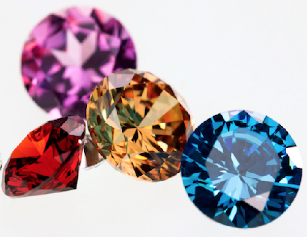 colored diamonds