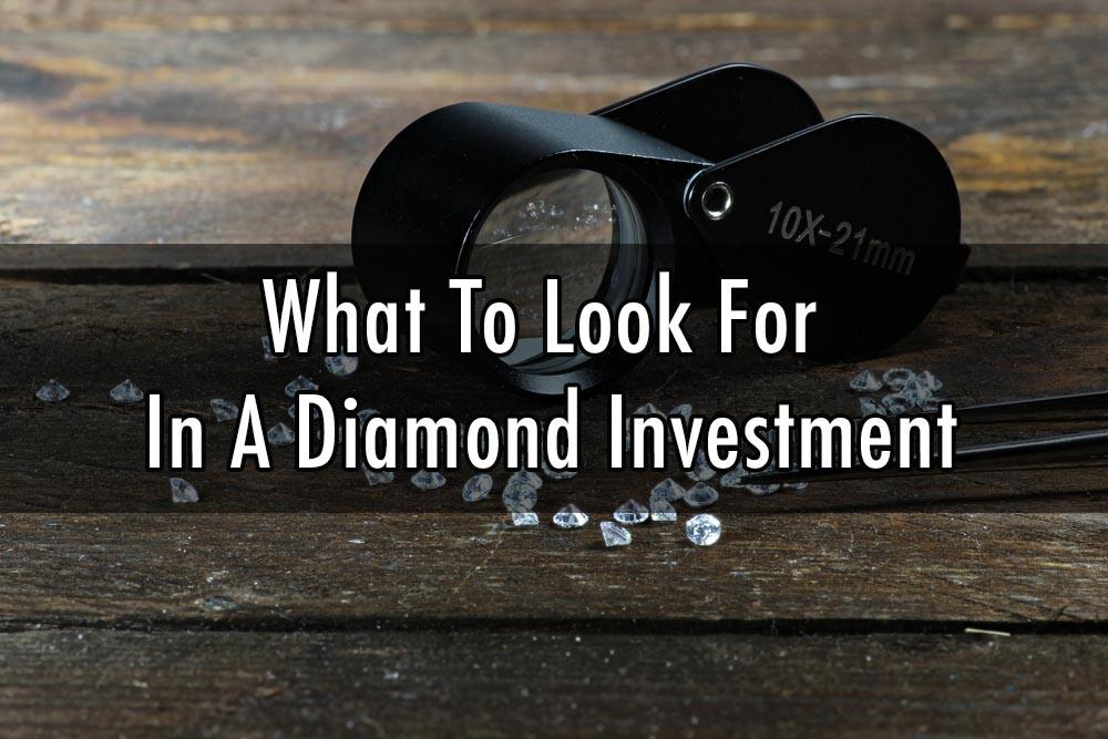 diamond investment