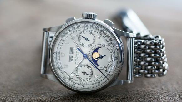 Patek Philippe Ref 1518 in Stainless Steel watch