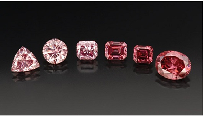 Pink and red Argyle diamonds.png