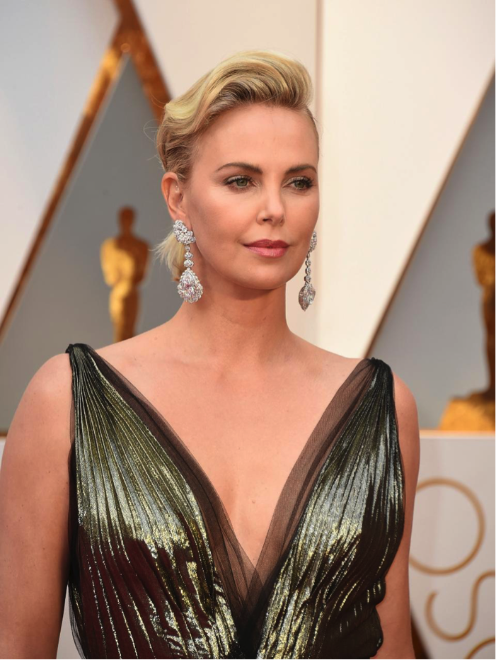 Charlize Therone diamonds
