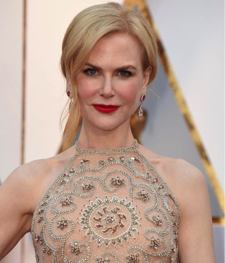 Nicole Kidman Yellow Diamonds