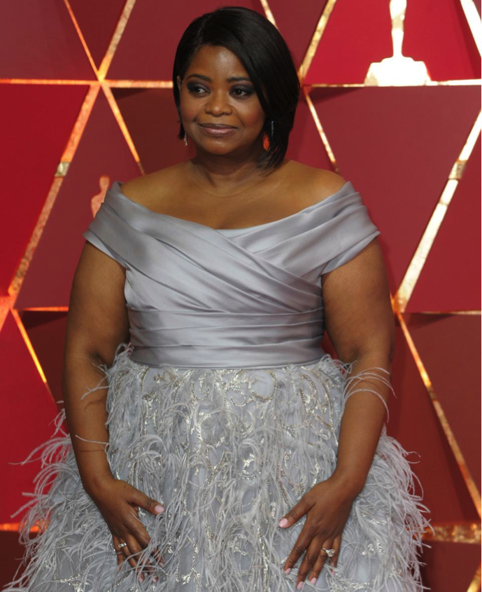 Octavia Spencer $1.2 million worth of Forevermark diamond jewelry