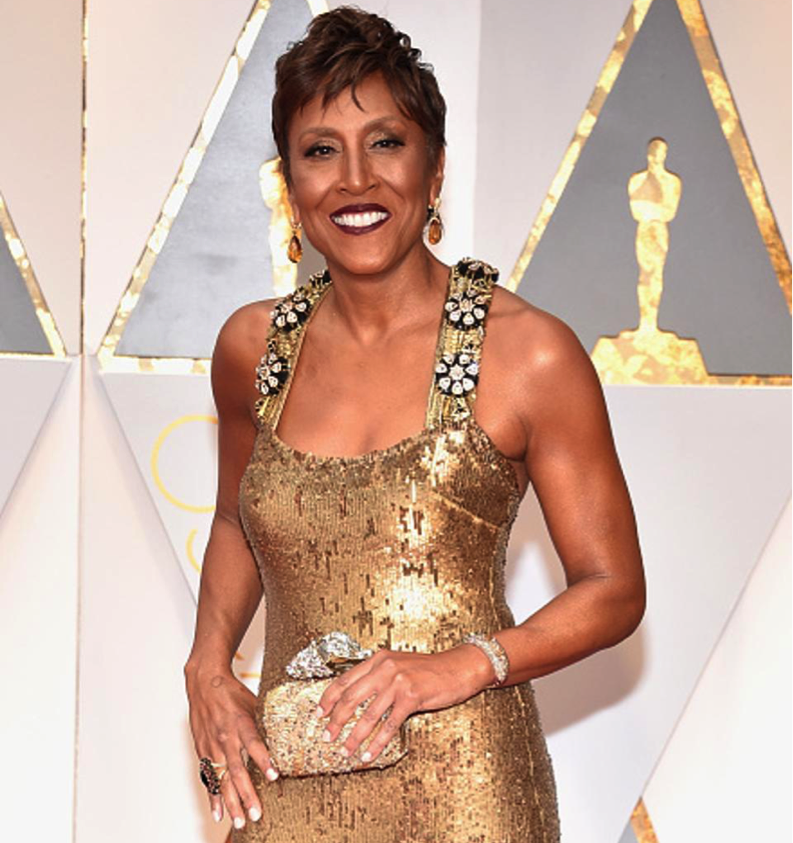 Robin Roberts colored diamonds