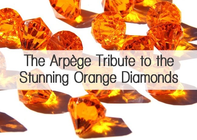 orange diamonds