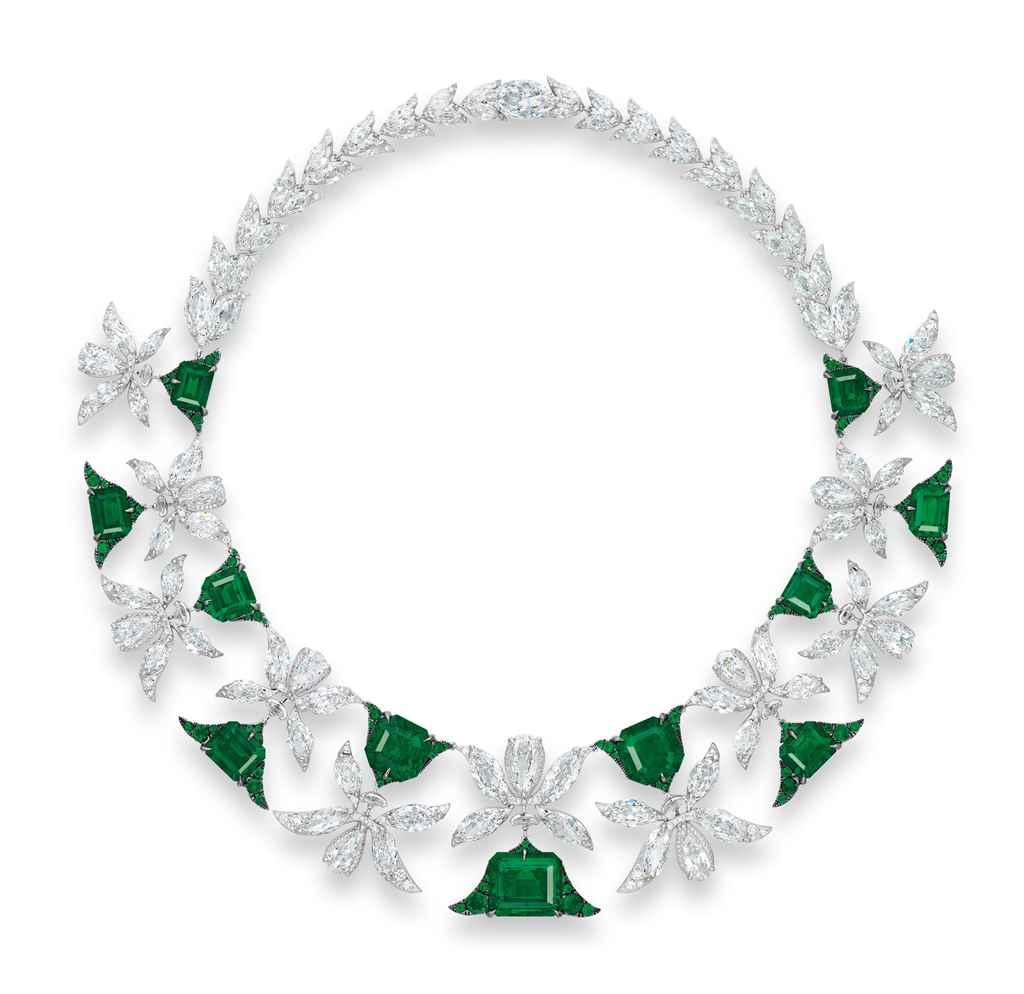 The Magnificent Palmette Necklace