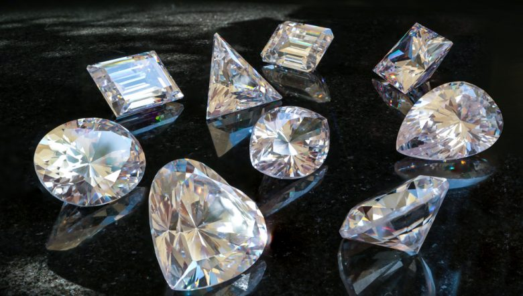colorless diamonds
