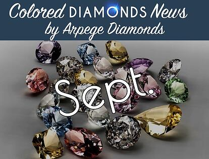 colored diamond news september