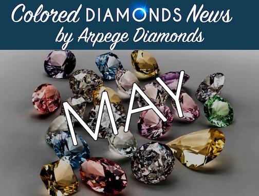 colored diamonds news may