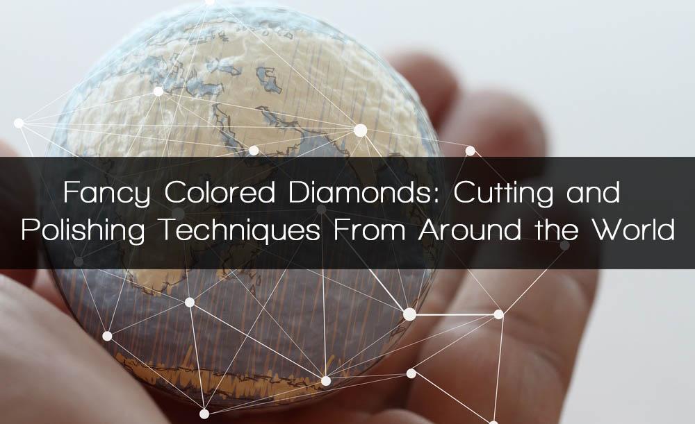 colored diamonds around the world