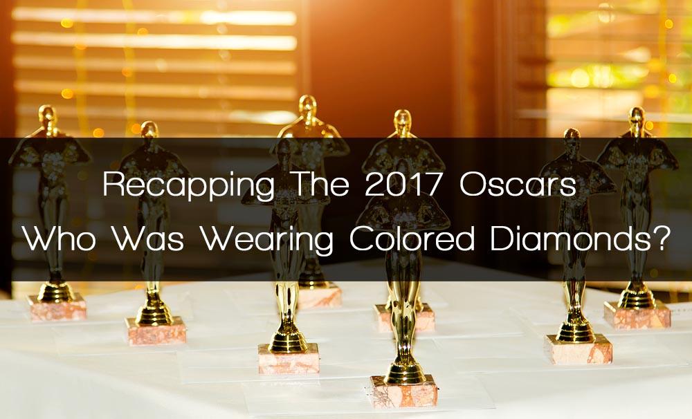 oscars colored diamonds