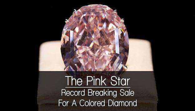 pink diamond sale