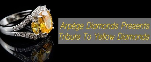 yellow diamonds tribute