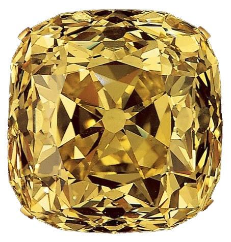 yellow colored diamonds