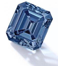 fancy vivid blue diamond sotheby's