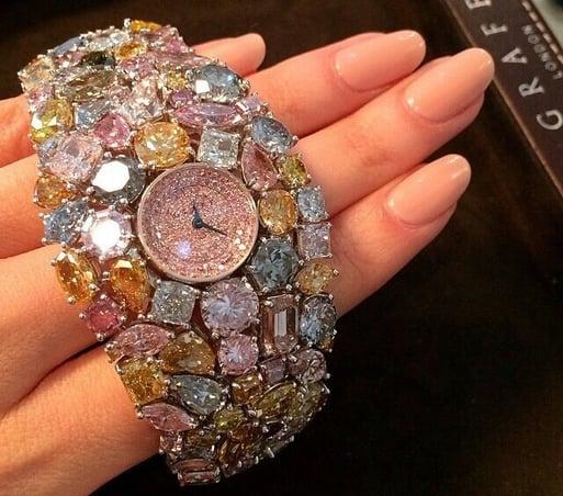 graff diamond hallucination watch