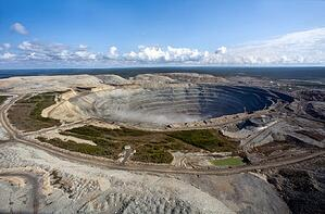 jubilee diamond mine russia