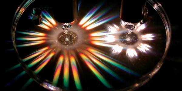 moissanite vs diamond brilliance