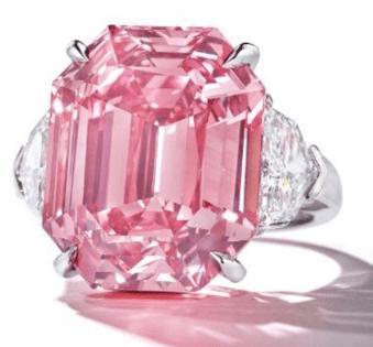 pink legacy diamond christies