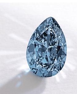 record holding blue diamond
