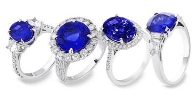 saphire ring