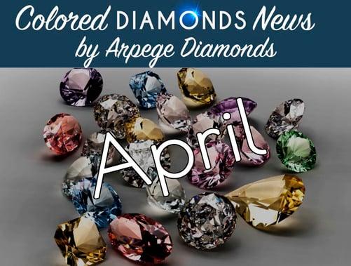 colored diamonds news April