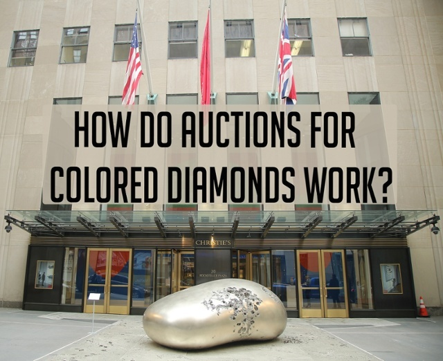 colored diamonds auction