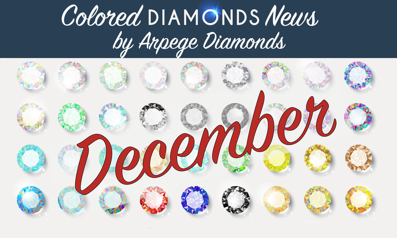 colored diamonds news december