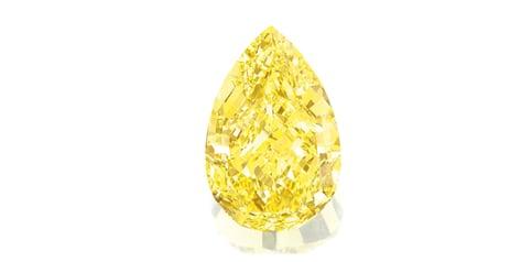 sun drop yellow diamond