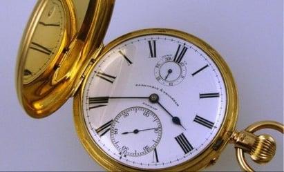 waltham pocket watch abraham