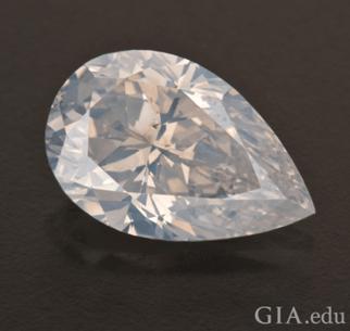 white diamond gia