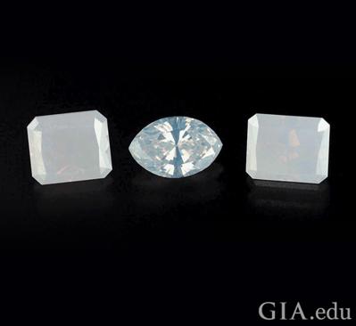 white diamonds gia