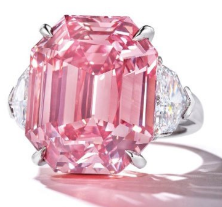 pink legacy diamond christies
