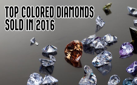 top colored diamonds