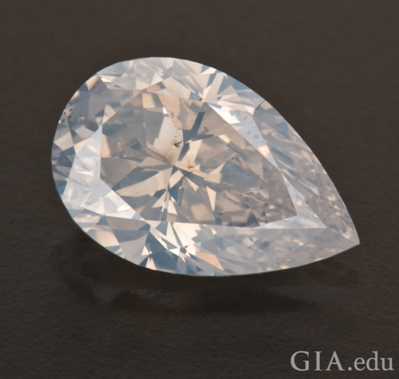 white diamond gia